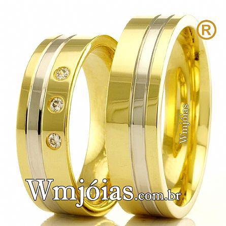 Aliancas de casamento WM2416