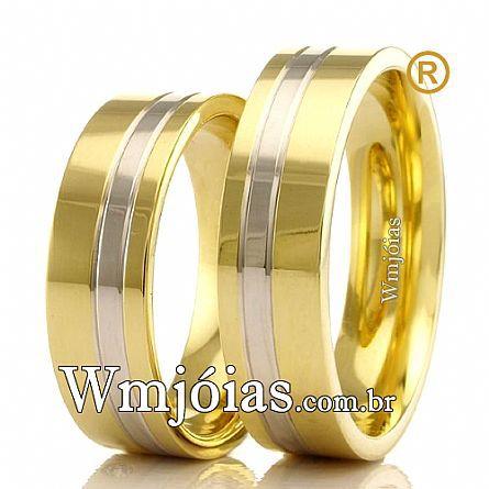 Aliancas de casamento WM2417