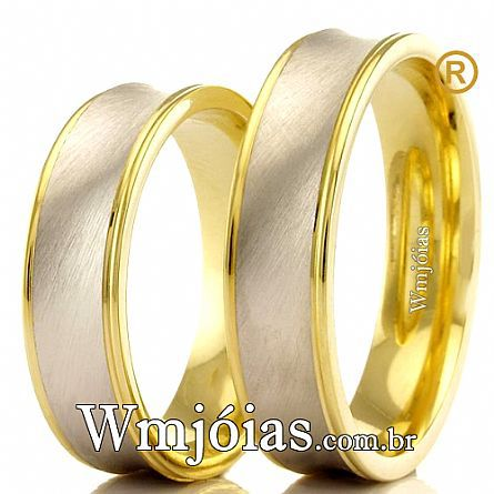 Aliancas de casamento WM2419