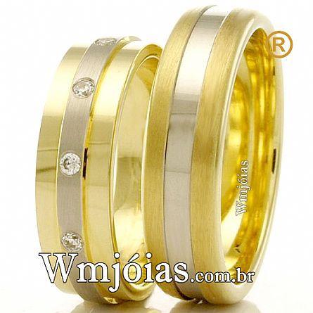 Aliancas de casamento WM2420