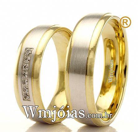 Aliancas de casamento WM2422