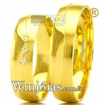 Aliancas de casamento WM2474