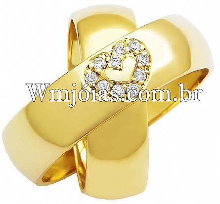 Aliancas de casamento WM2488