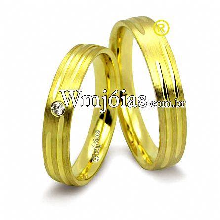 Alianças de casamento WM2498