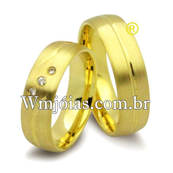 Alianças de casamento WM2503