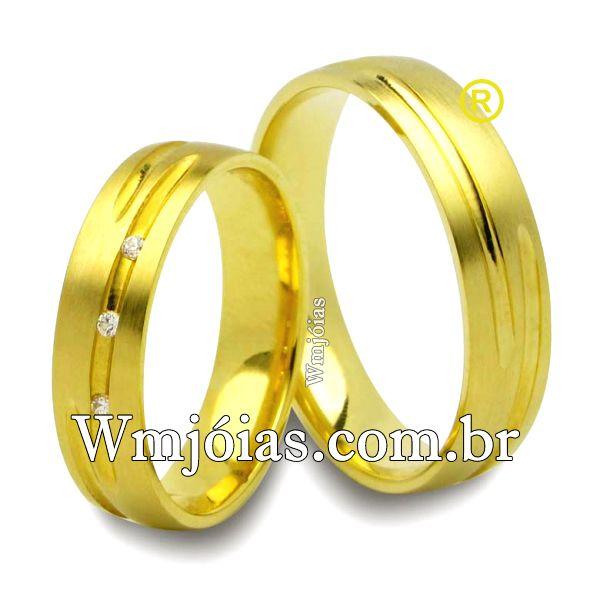 Alianças de casamento WM2505