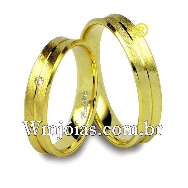 Alianças de casamento WM2507