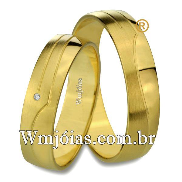 Alianças de casamento WM2528
