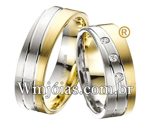 Alianças de casamento WM2540