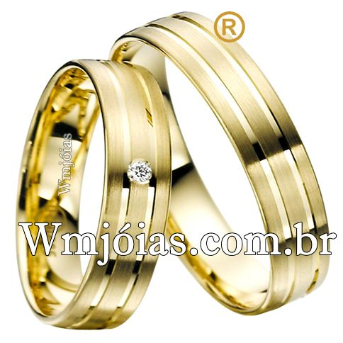 Alianças de casamento WM2542