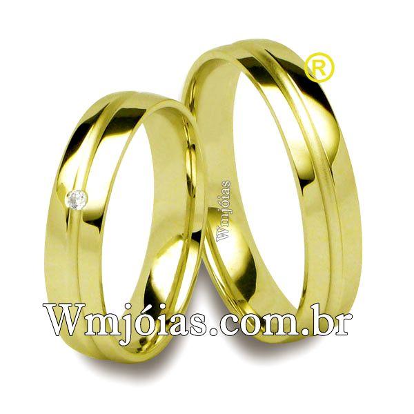 Alianças de casamento WM2549
