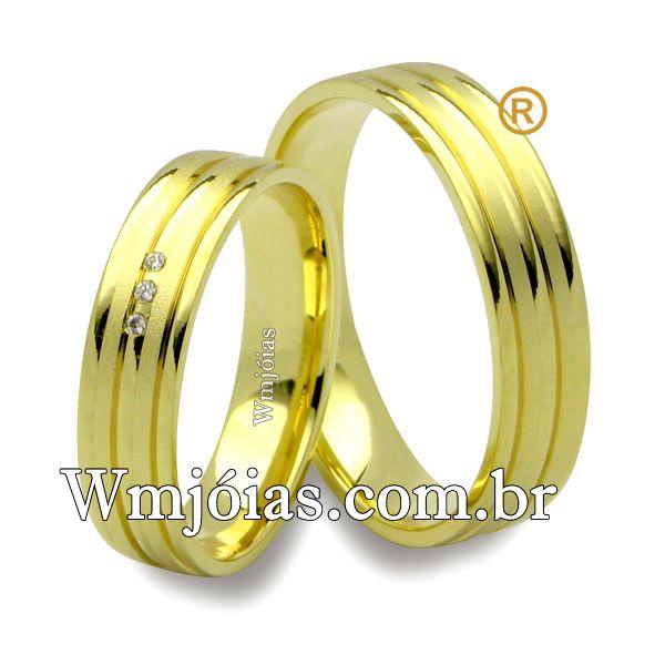 Alianças de casamento WM2553