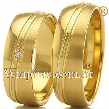 Alianças de casamento WM2748