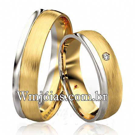 Alianças de casamento WM2749