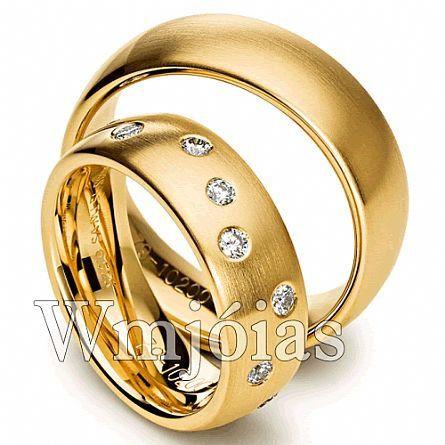 Alianças de casamento WM2834