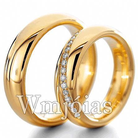 Alianças de casamento WM2847