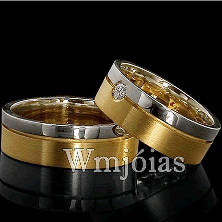 Alianças de casamento WM2862