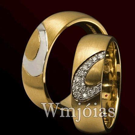Alianças de casamento WM2863