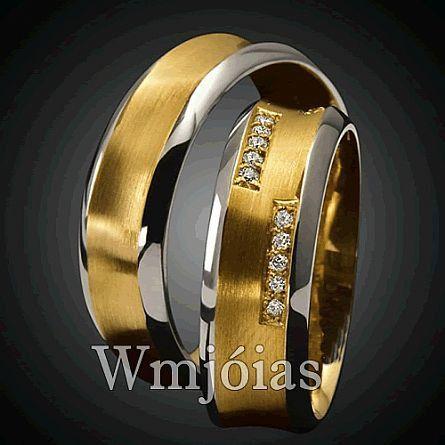 Alianças de casamento WM2864