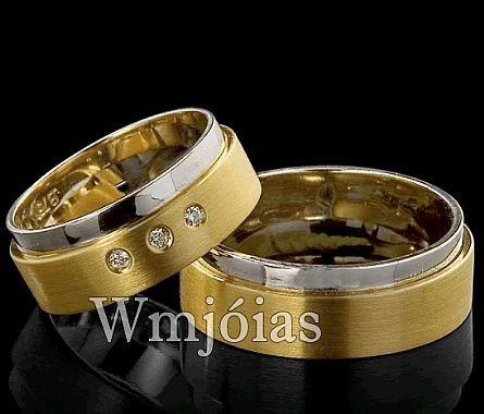 Alianças de casamento WM2865
