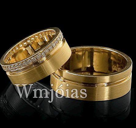 Alianças de casamento WM2866
