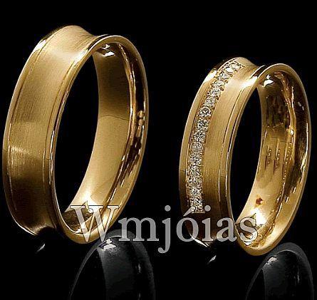Alianças de casamento WM2867