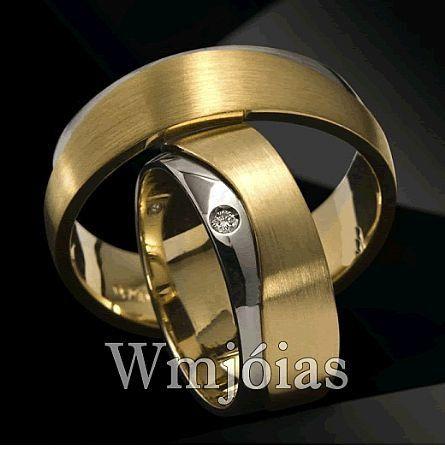 Alianças de casamento WM2868