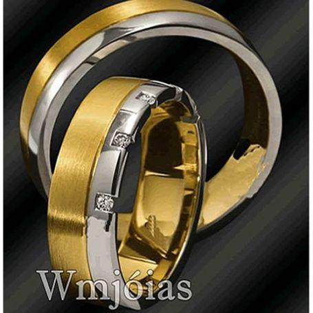 Alianças de casamento WM2873
