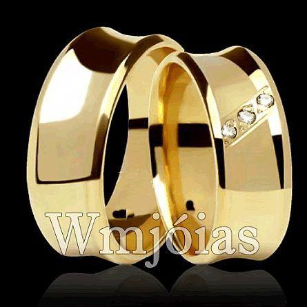 Alianças de casamento WM2878