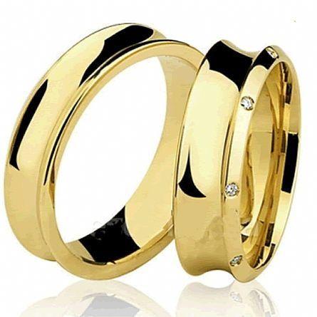 Alianças de casamento WM2882