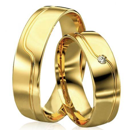 Alianças de casamento WM2923