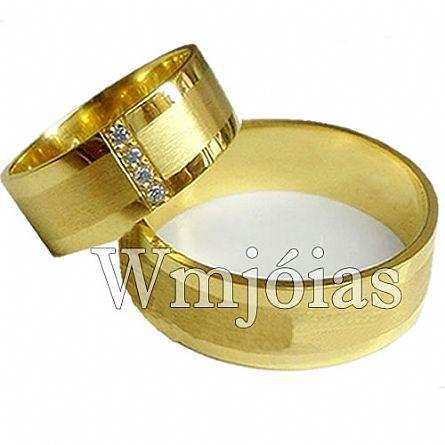 Alianças de casamento WM2966