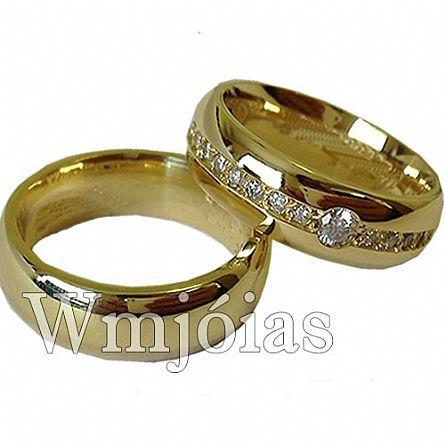 Alianças de casamento WM2967