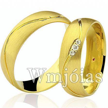 Alianças de casamento WM2969