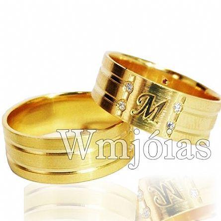 Alianças de casamento WM2970