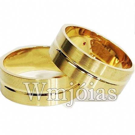 Alianças de casamento WM2972