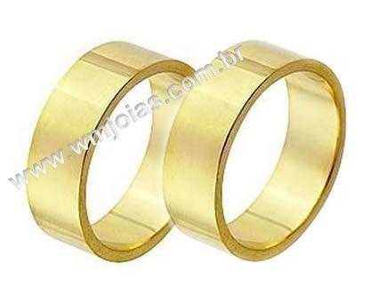 Alianças de noivado e casamento WM1348