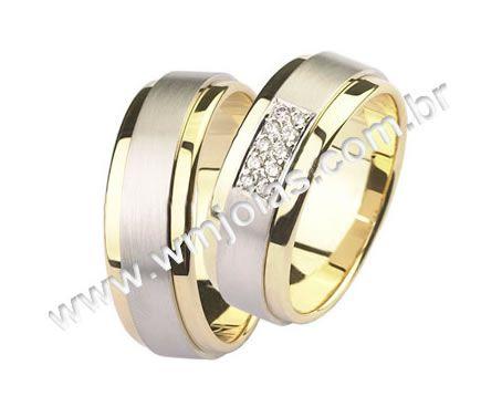 Alianças de noivado e casamento WM1368