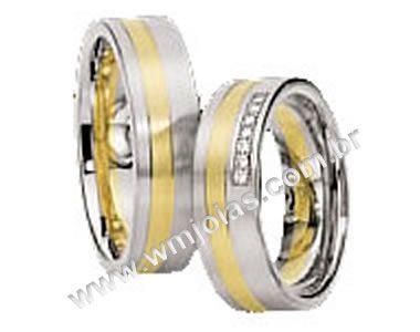 Alianças de noivado e casamento WM1456