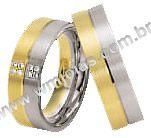 Alianças de noivado e casamento WM1457