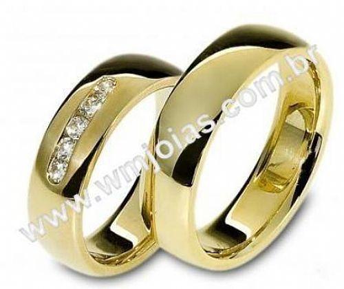 Alianças de noivado e casamento WM2472