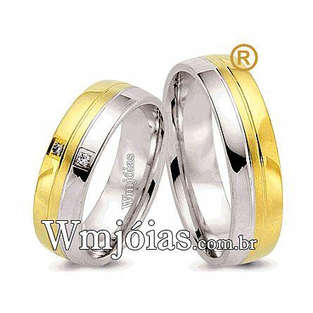 Alianças de noivado e casamento WM2600