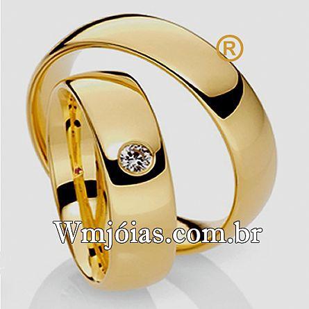 Aliancas de noivado e casamento WM2671