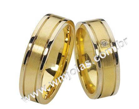 Alianças de noivado Petrolina WM2122