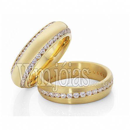 Alianças de noivado São paulo WM2256