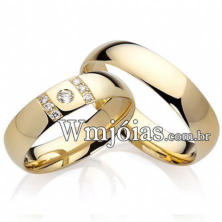 Alianças de noivado WM2197