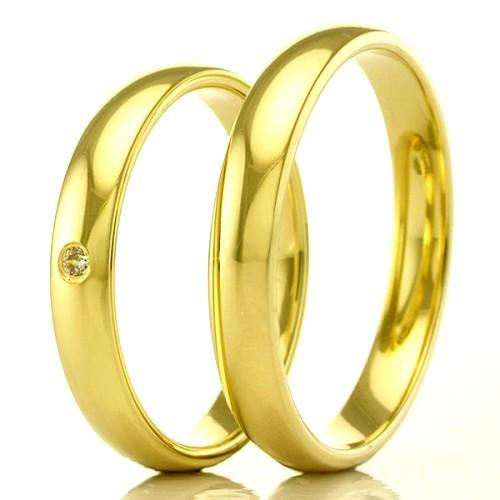 Alianças de ouro 18k WM2383