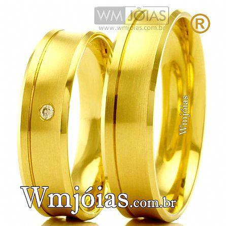 Aliancas de ouro WM2479