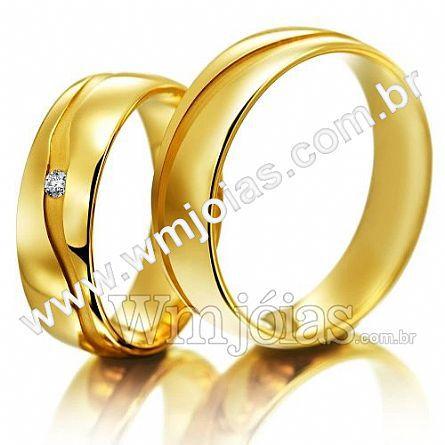 Alianças em ouro 18k WM2259