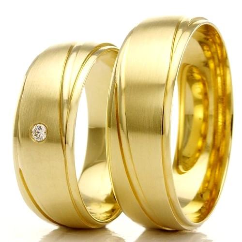 Alianças em ouro 18k WM2298